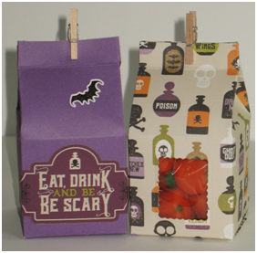 Spooky Milk Carton Treat Boxes