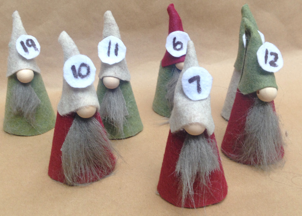 DIY Nordic Gnome Advent