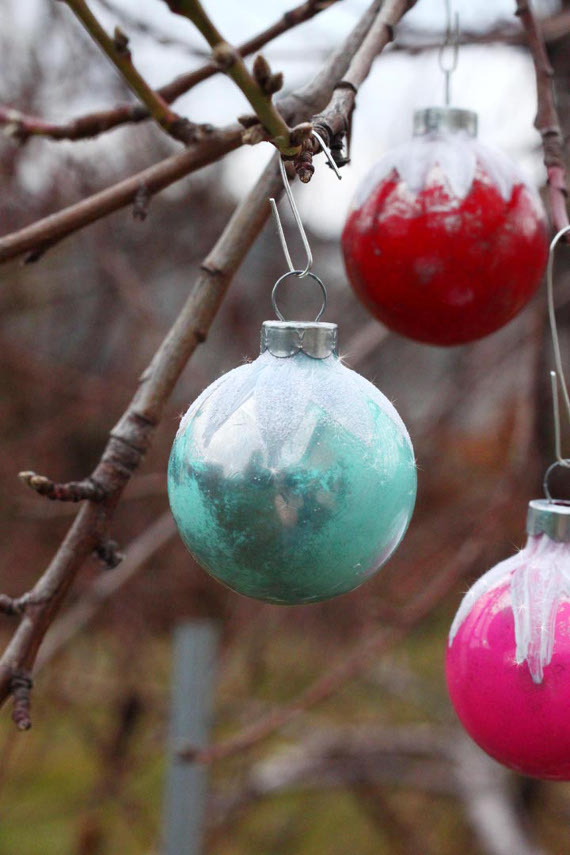 Vintage Glass Ball Ornaments