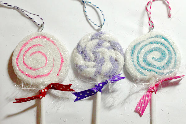 Sparkly Sweet Lollipops