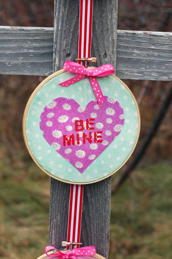 Be Mine Cuties Wall Hanging