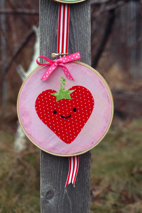 Strawberry Cutie Wall Hanging