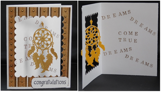 Dreams Come True Window Card