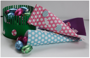 Spring Candy Treat Boxes