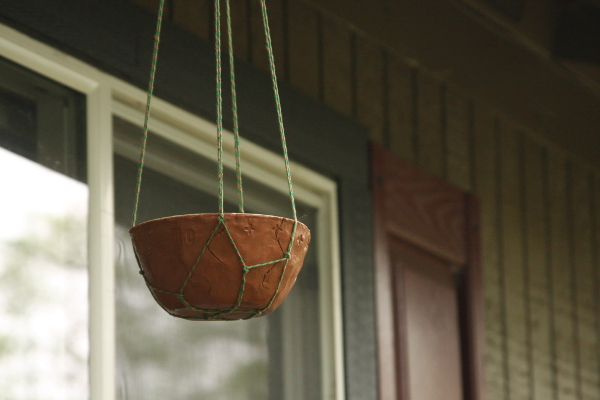 DIY Terra Cotta Clay Bird Feeder