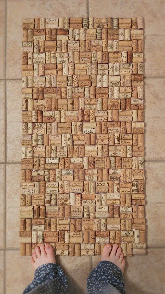 Wine Cork Bath Mat