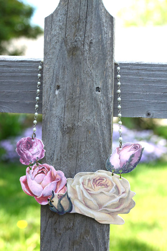 Quick & Easy Flower Bloom Statement Necklace