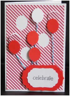 Celebrate Graduation Card Using a Die to Create the Layers