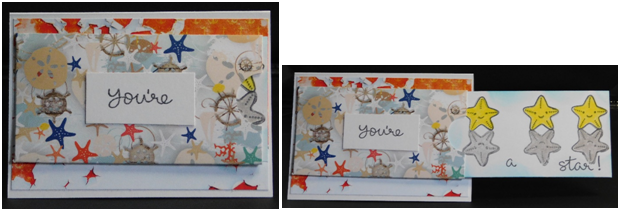 End of the School Year Slider Pocket Card