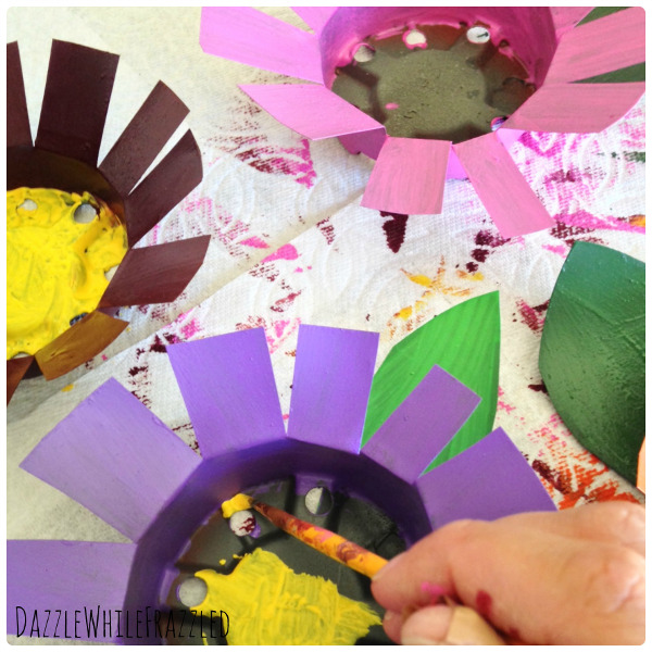 Flowering Watering Can collage 3