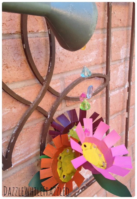 Flowering Watering Can collage 8
