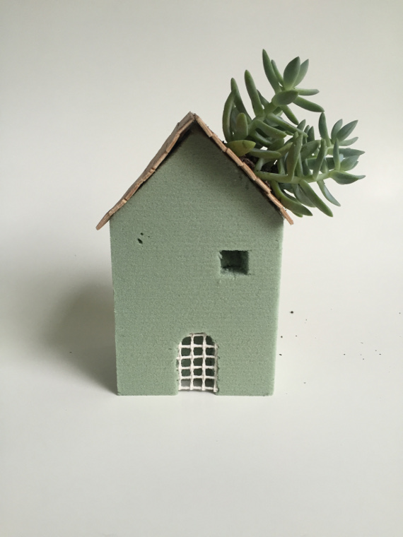 Succulent House Planter