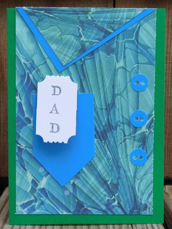 Dad's the Ticket Father's Day Card