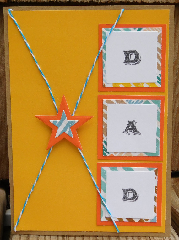 You're a Star, Dad- Card for Father's Day
