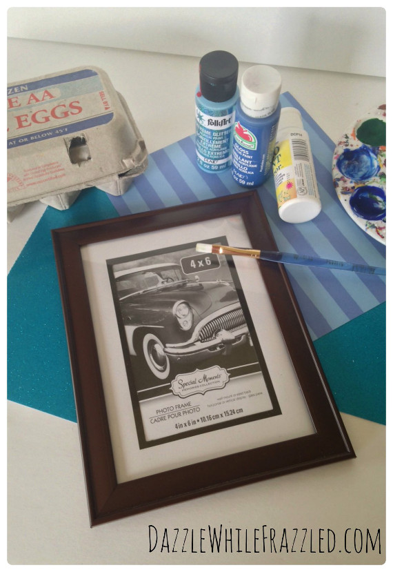 Nautical Inspired Photo Frame collage 1