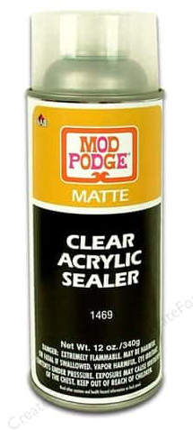 Plaid Acrylic Sealer Mod Podge Aerosol Matte 12oz