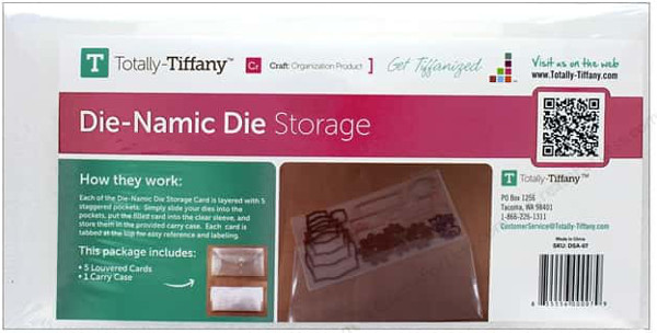 Totally Tiffany Organizers Die-Namic Die Storage