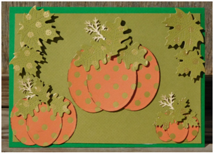 Send a pumpkin patch to a friend with this fun DIY card tutorial