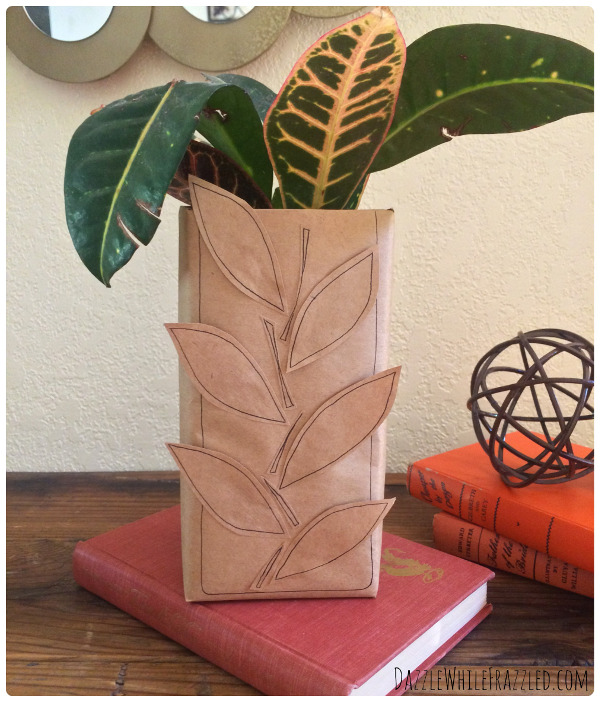 Create a vase for next to nothing with this DIY Tutorial.