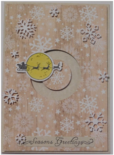 Make an interactive spinner card for your holiday cards this season.