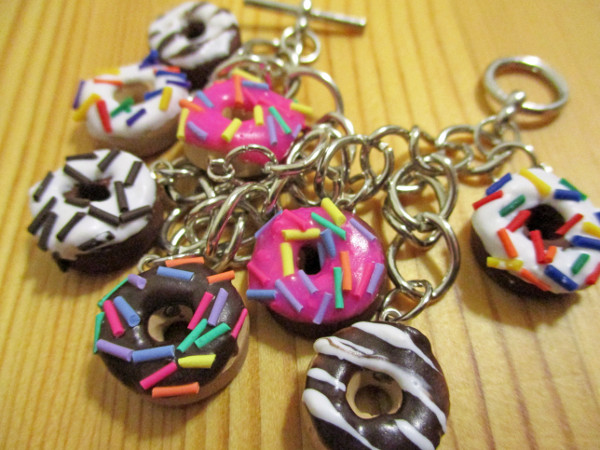 Create your own doughnut jewelry