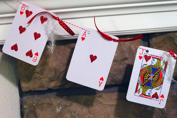 Deck of Cards Garland