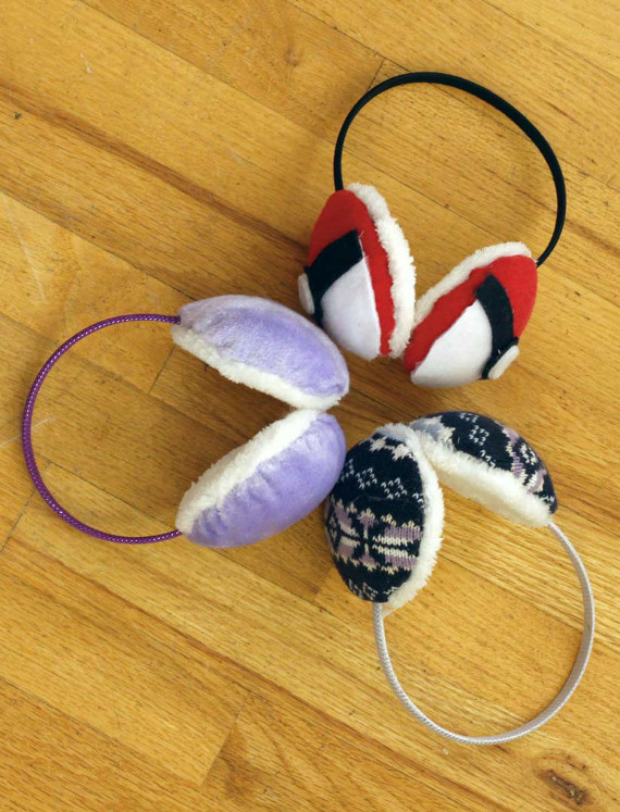 DIY Earmuffs for the whole family