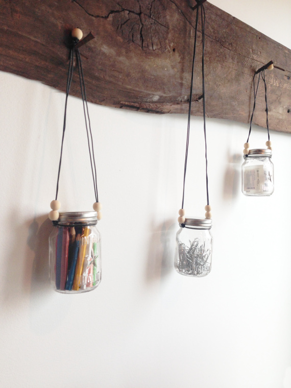 Hanging Storage Jars