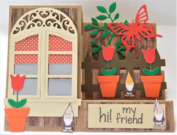 Create a cute garden card for any occasion!