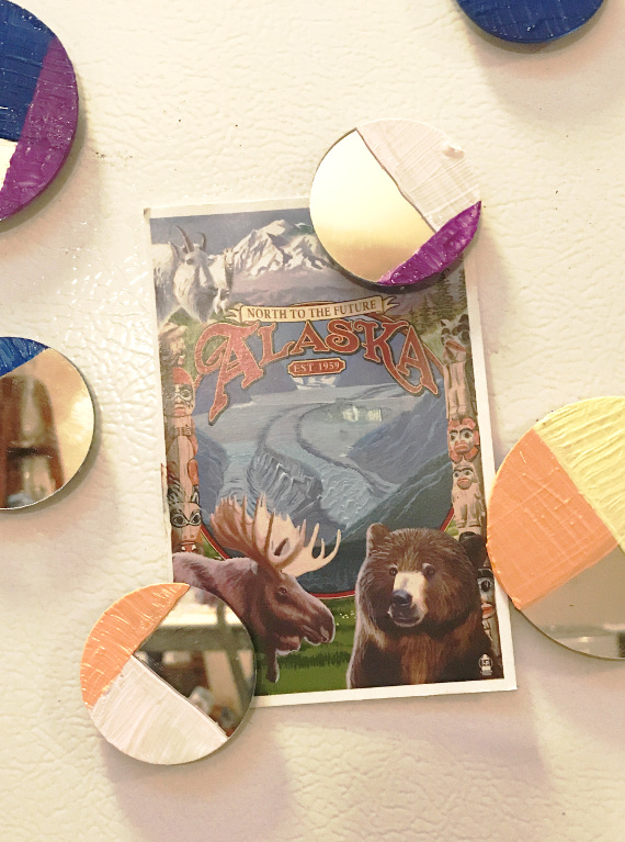 DIY Mirror Magnets in no time!