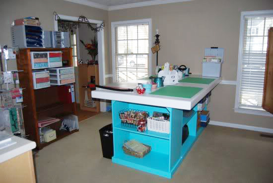 Craft Room Makeovers: Winners Of The Craft Room Makeover Contest!