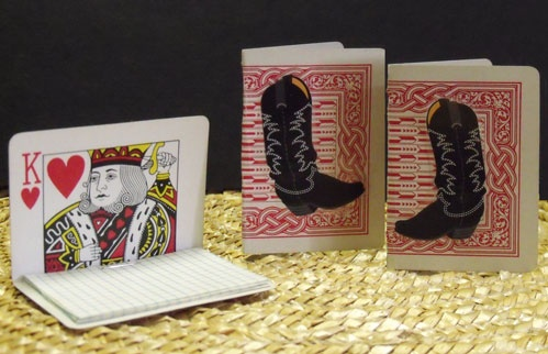 Playing Card Scratchpads Think Crafts By Createforless