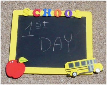 first day of school sign think crafts by createforless