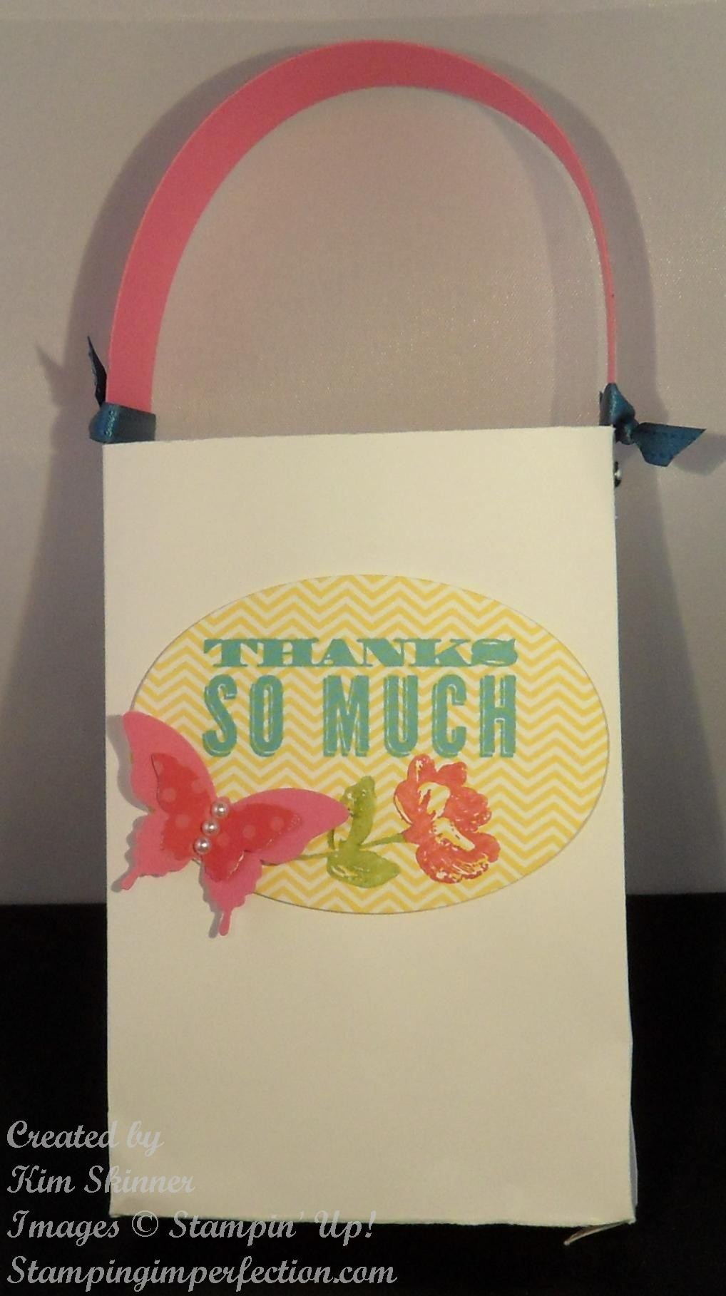 Thank You Bag at ThinkCrafts.com