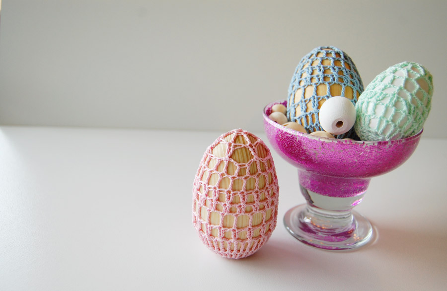Wooden Egg Crochet Pattern at ThinkCrafts.com