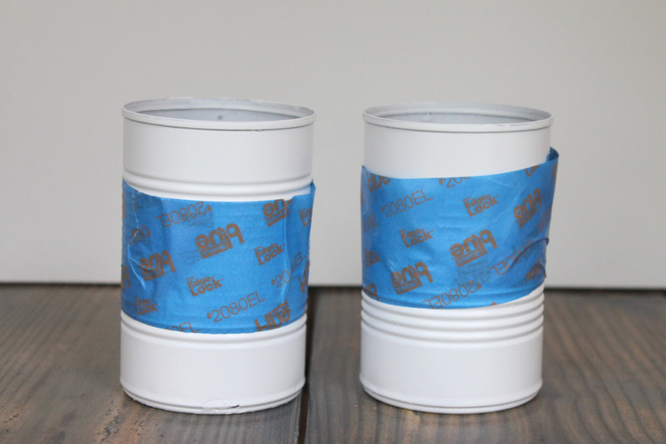 Paint and Tape Cans