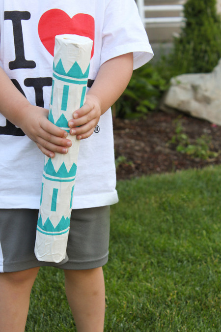 DIY your own rainstick from a recycled material. Tutorial at ThinkCrafts.com