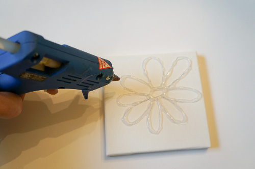 Hot Glue Painting Think Crafts By