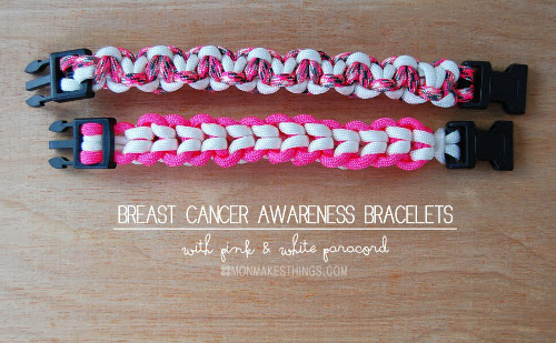 Breast Cancer Awareness Bracelets Think Crafts By Createforless