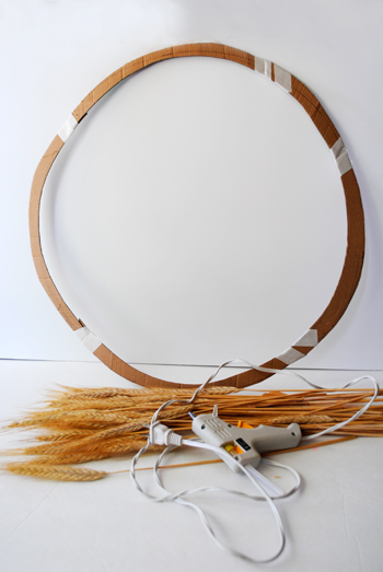 2 - materials for wheat wreath
