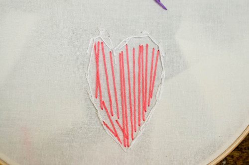 Child Embroidery doesn't have to be perfect