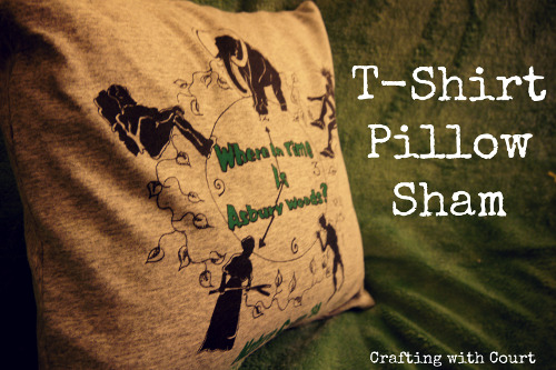 T-Shirt Pillow Sham