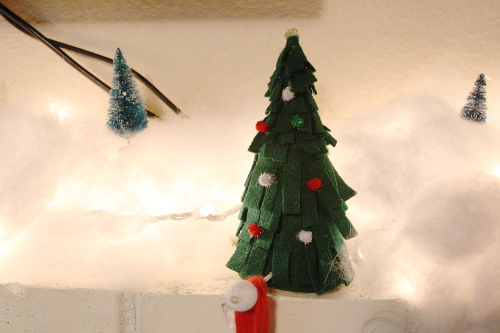 Christmas Tree Stocking Holders