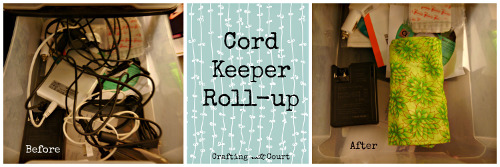Cord Keeper Collage