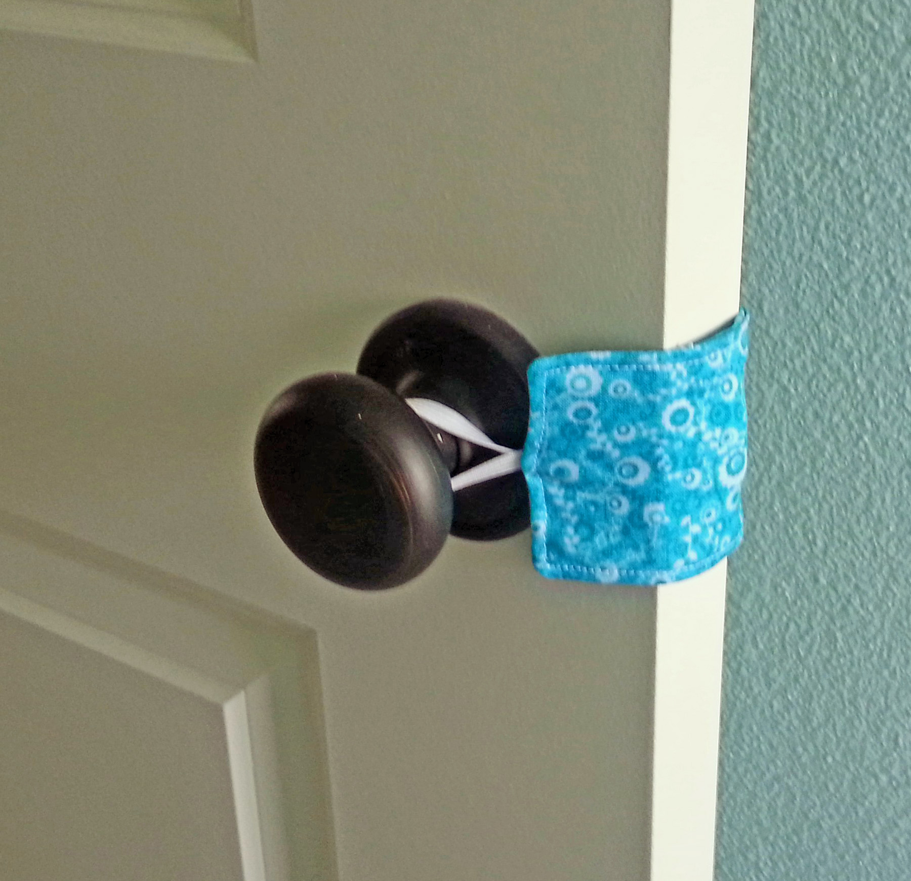 Diy Door Latch Covers Think Crafts By Createforless