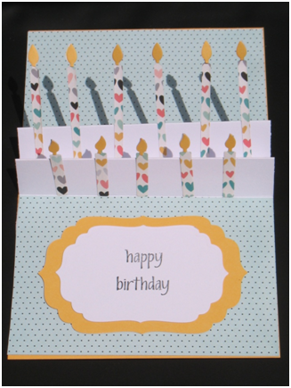Happy Birthday Pop-up card