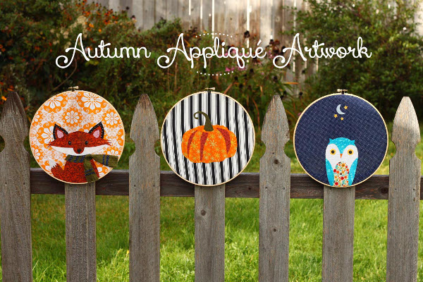 DIY Autumn Applique Artwork