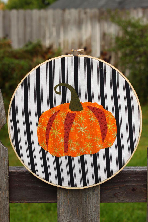 Pumpkin Applique Artwork