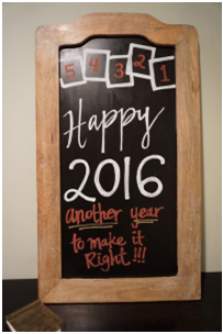 No need to throw the old chalkboard out, give it an easy revival!