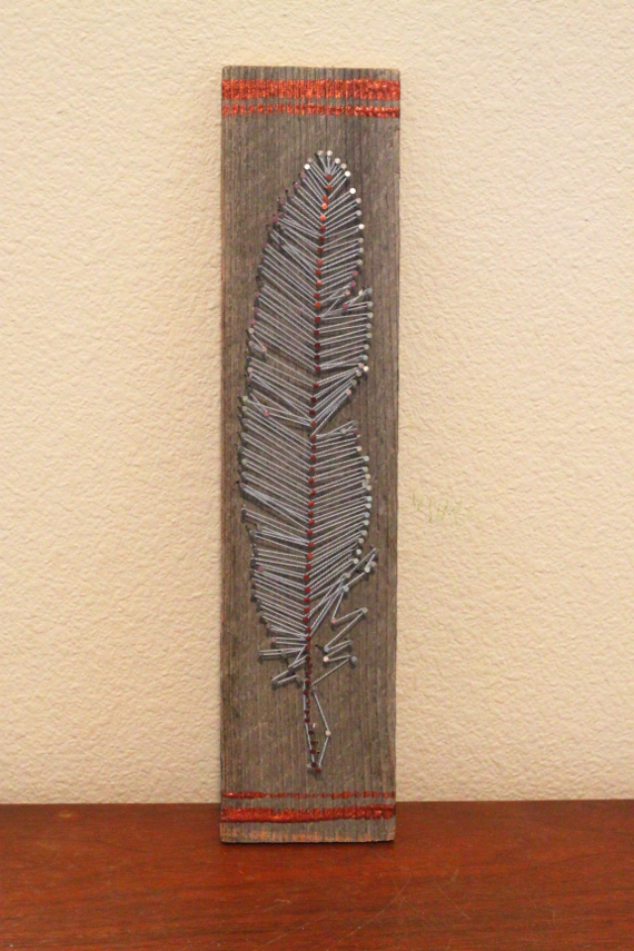 Feather String Art Think Crafts By Createforless